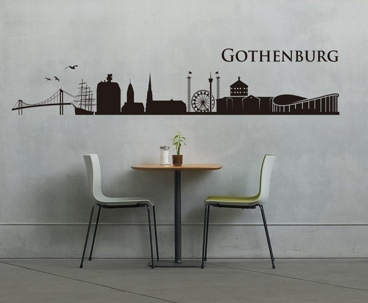 Vinilo del skyline de Gotemburgo