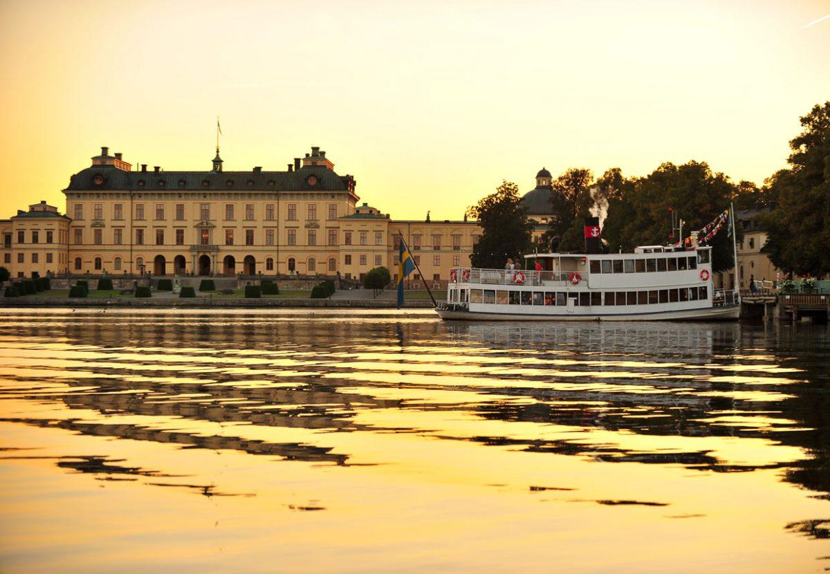 Crucero a Drottningholm en Estocolmo <br> Foto: Strömma.se