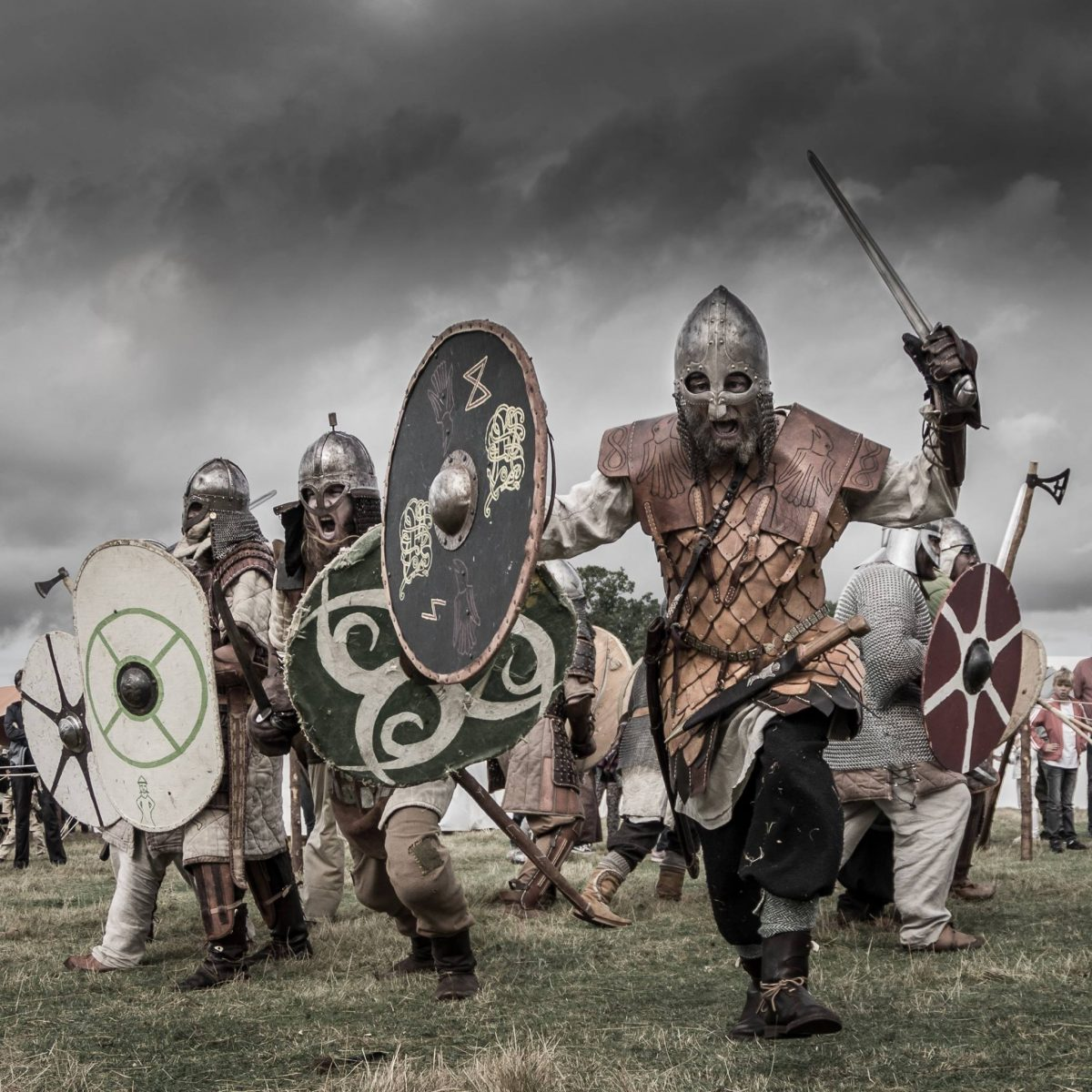 Vikingos al poder en Gudahagen, Escania, Suecia <br> Foto: gudahagen.se