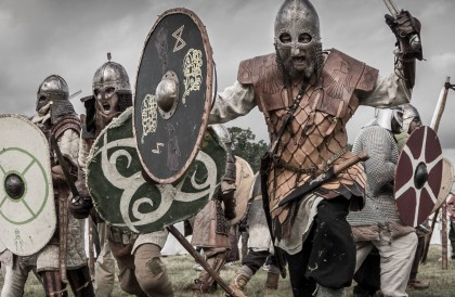 Vikingos al poder en Gudahagen, Escania, Suecia Foto: gudahagen.se