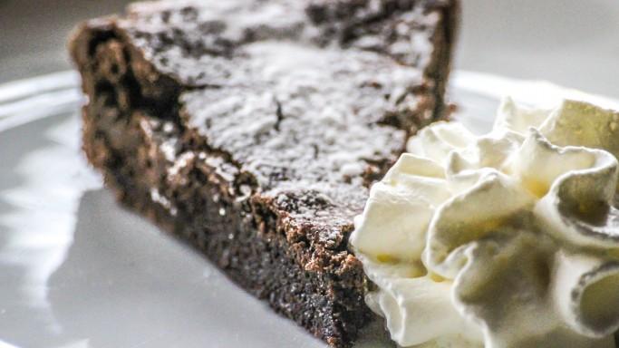 kladdkaka tårta