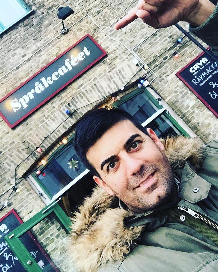 Språkcaféet en Gotemburgo un lugar para practicar idiomas <br> Foto: Israel Úbeda / sweetsweden.com