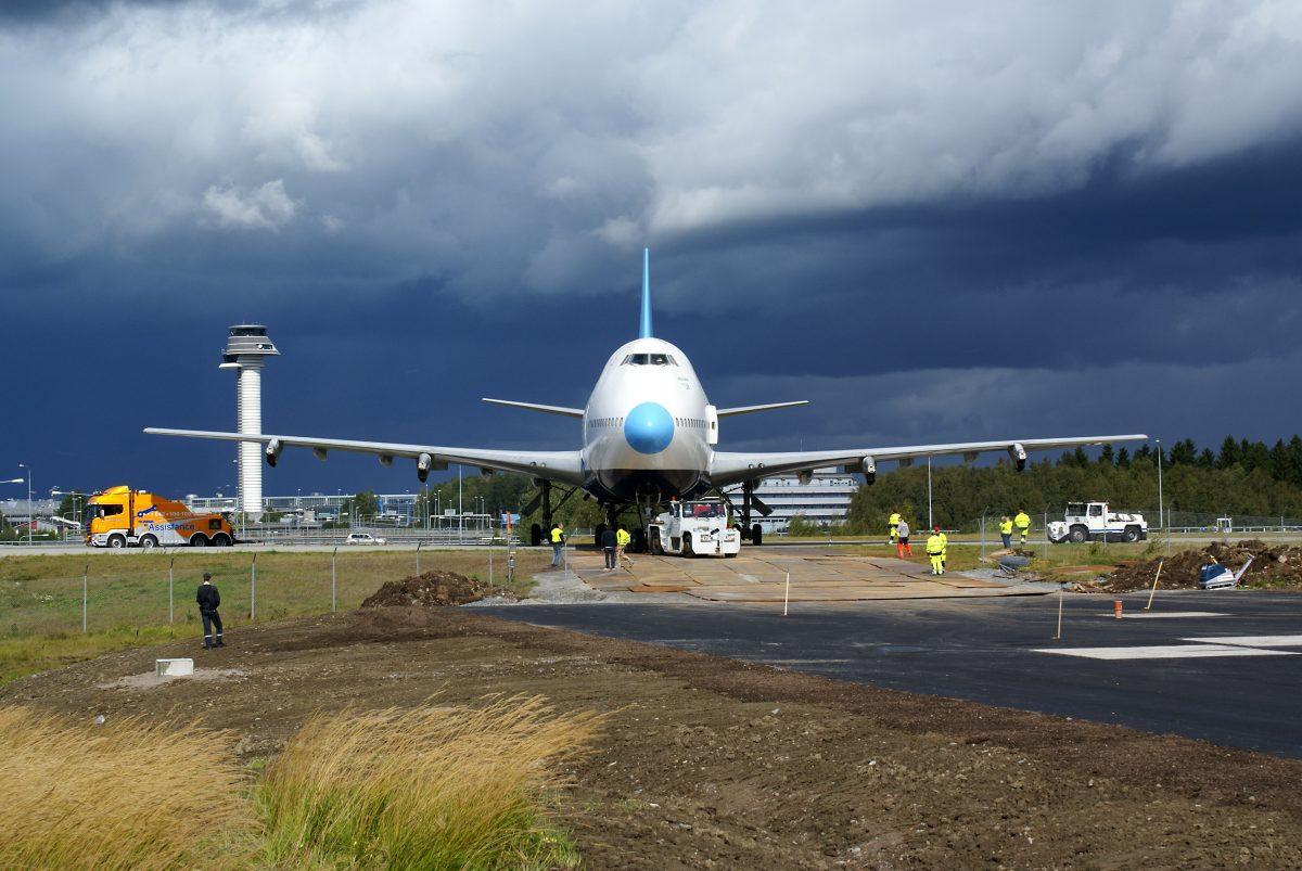 JumboStay el avión hotel en Estocolmo, Suecia <br> Foto: Jumbostay.com