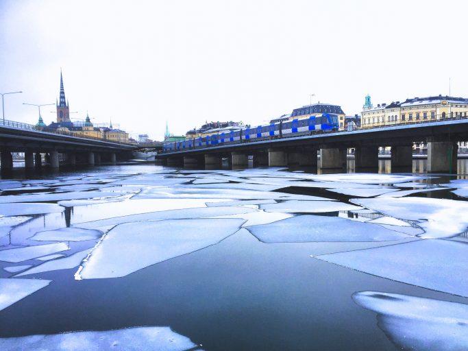 Vista de Estocolmo desde Sjöbergsplan - Foto: Israel Úbeda/sweetsweden.com