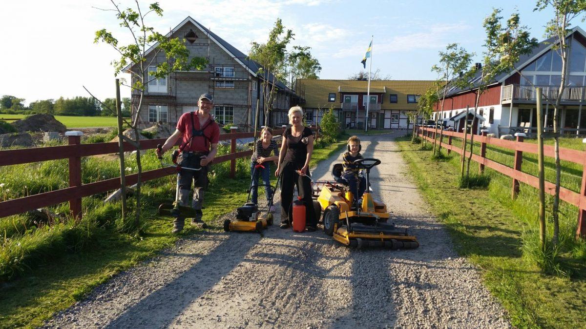 Un día en la granja Lögnäs Gård en Laholm <br> Foto: lognasgard.se