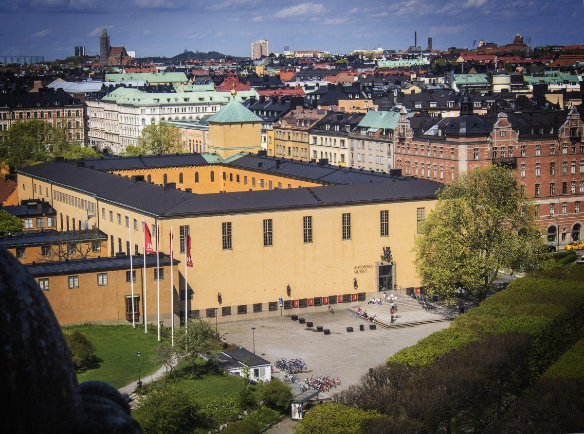 El Museo de Historia de Suecia en Estocolmo <br> Foto: Wilhelm Lagercrantz, Statens historiska museum
