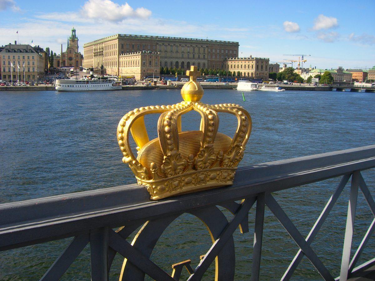 Vista del Palacio Real y Slottsbacken desde Skeppsholmsbron <br> Foto: Israel Ubeda / sweetsweden.com