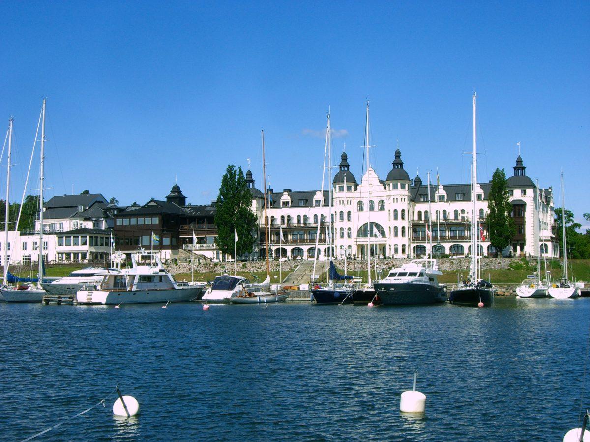 El Gran Hotel Saltsjöbaden <br> Foto: Israel Úbeda / sweetsweden.com