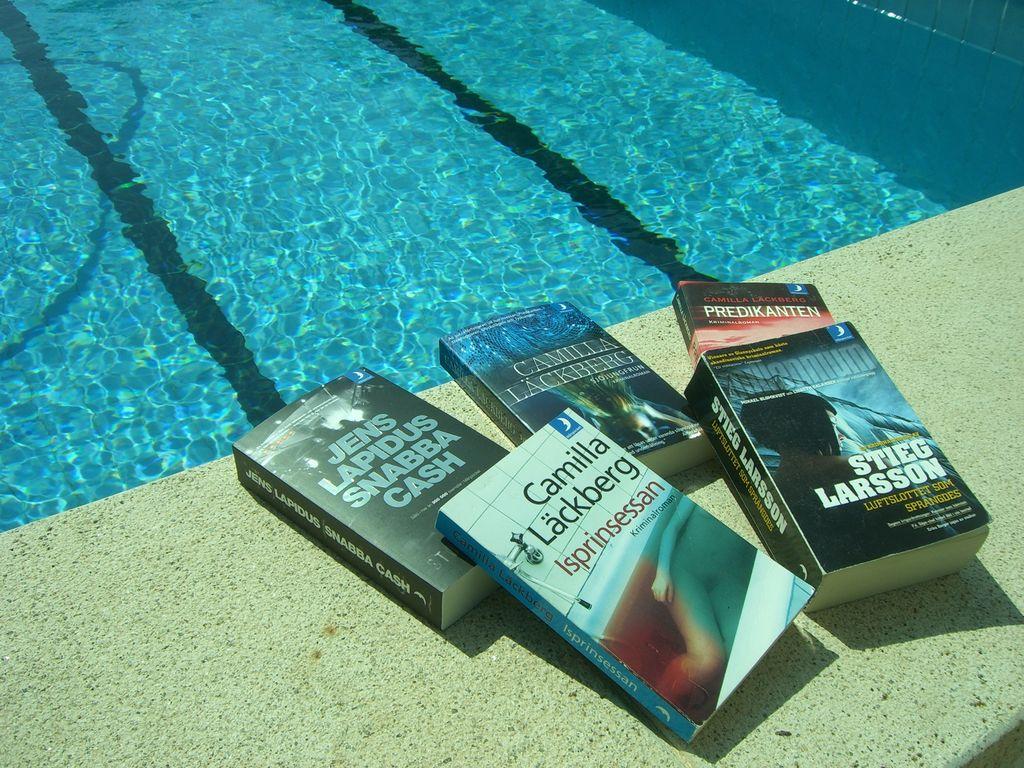 Disfrutando de la novela negra sueca en verano
