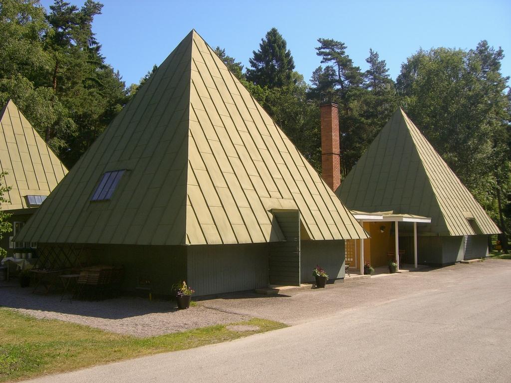 Centro de visitantes del Skogskyrkogård <br> Foto: Israel Úbeda / sweetsweden.com