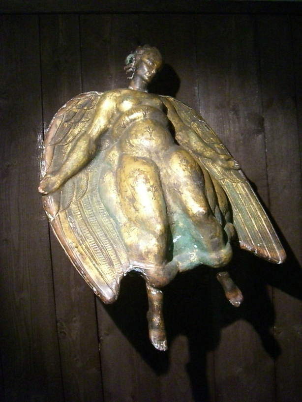 Estatua original del Ángel de la Muerte de Carl Milles <br> Foto: Israel Úbeda / sweetsweden.com