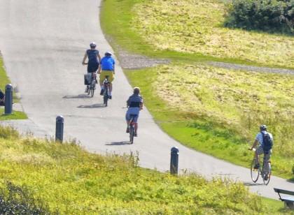El Kattegatleden en las cercanías de Varberg Foto: Region Halland