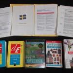 Mi colección de libros para aprender sueco - Foto: Israel Úbeda / sweetsweden.com
