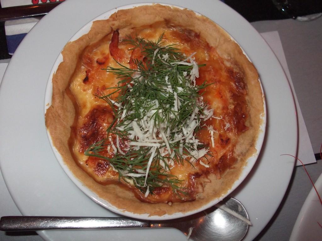 Quiche de queso de Västerbotten <br> Foto: Israel Úbeda/sweetsweden.com