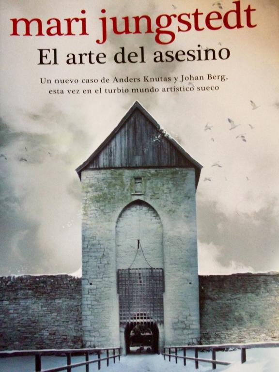 El arte del asesino: el nuevo libro de Mari Jungstedt