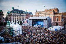 Concierto de Mando Diao durante el Kulturfestivalen de Estocolmo Foto: Pauline Suzor