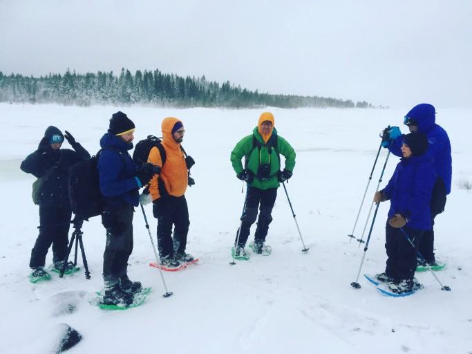 El grupo de paseo por el Báltico - Foto: Israel Úbeda / sweetsweden.com