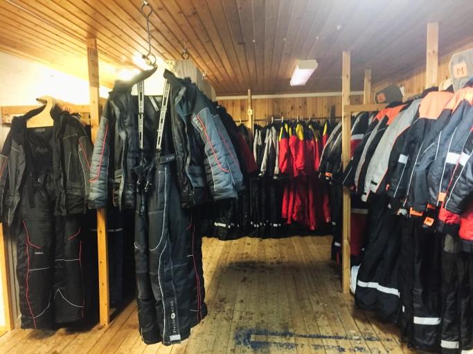 En Svansele tienen todo material de invierno - Foto: Israel Úbeda / sweetswweden.com