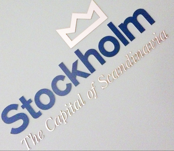 Slogan de Estocolmo - La Capital de Escandinavia - Foto: Israel Úbeda / sweetsweden.com