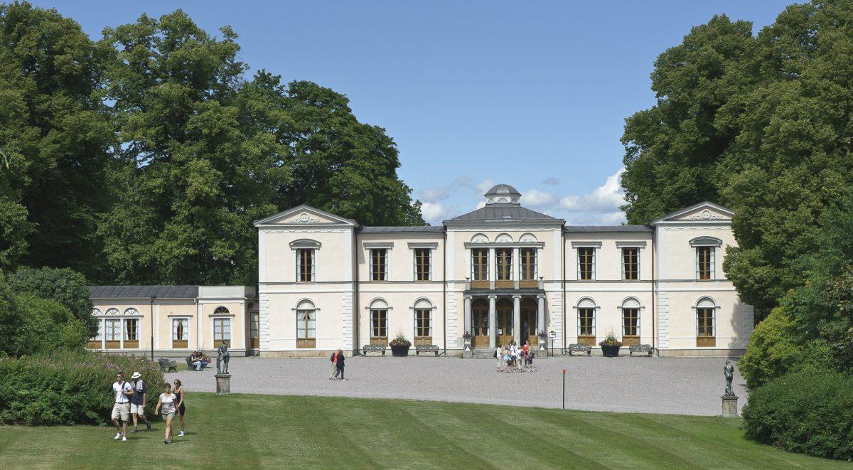El Palacio de Rosendal en Djurgården <br> Foto: Gomer Swahn