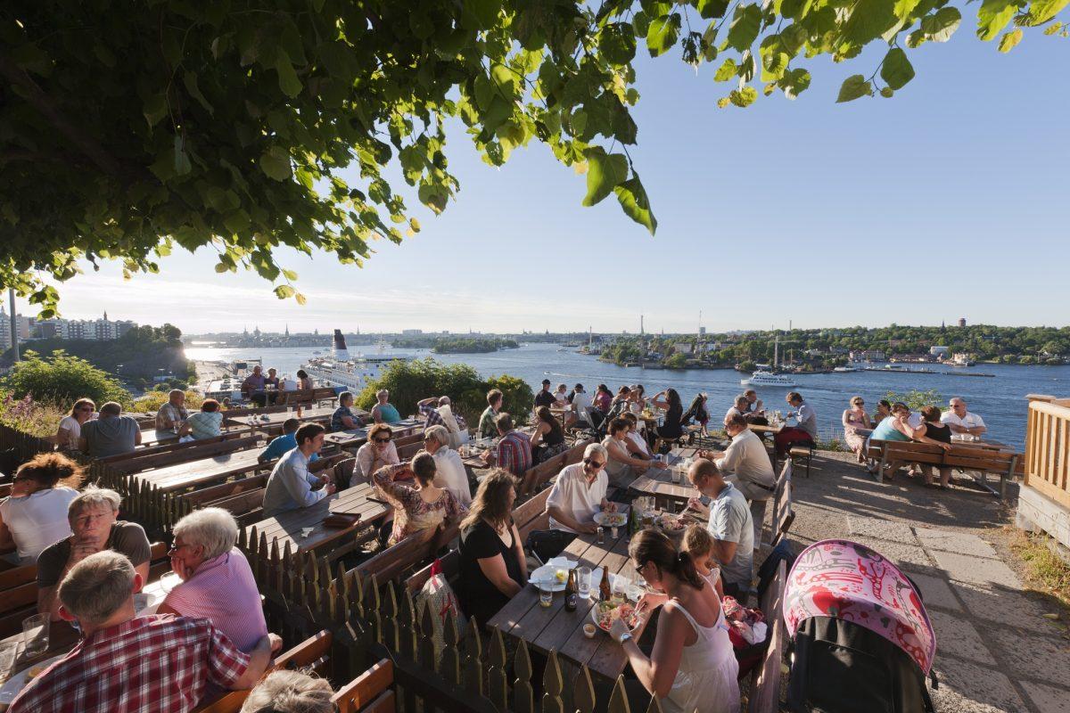 Vista desde Fåfangan <br> Foto: Jeppe Wikström / mediabank.visitstockholm.com