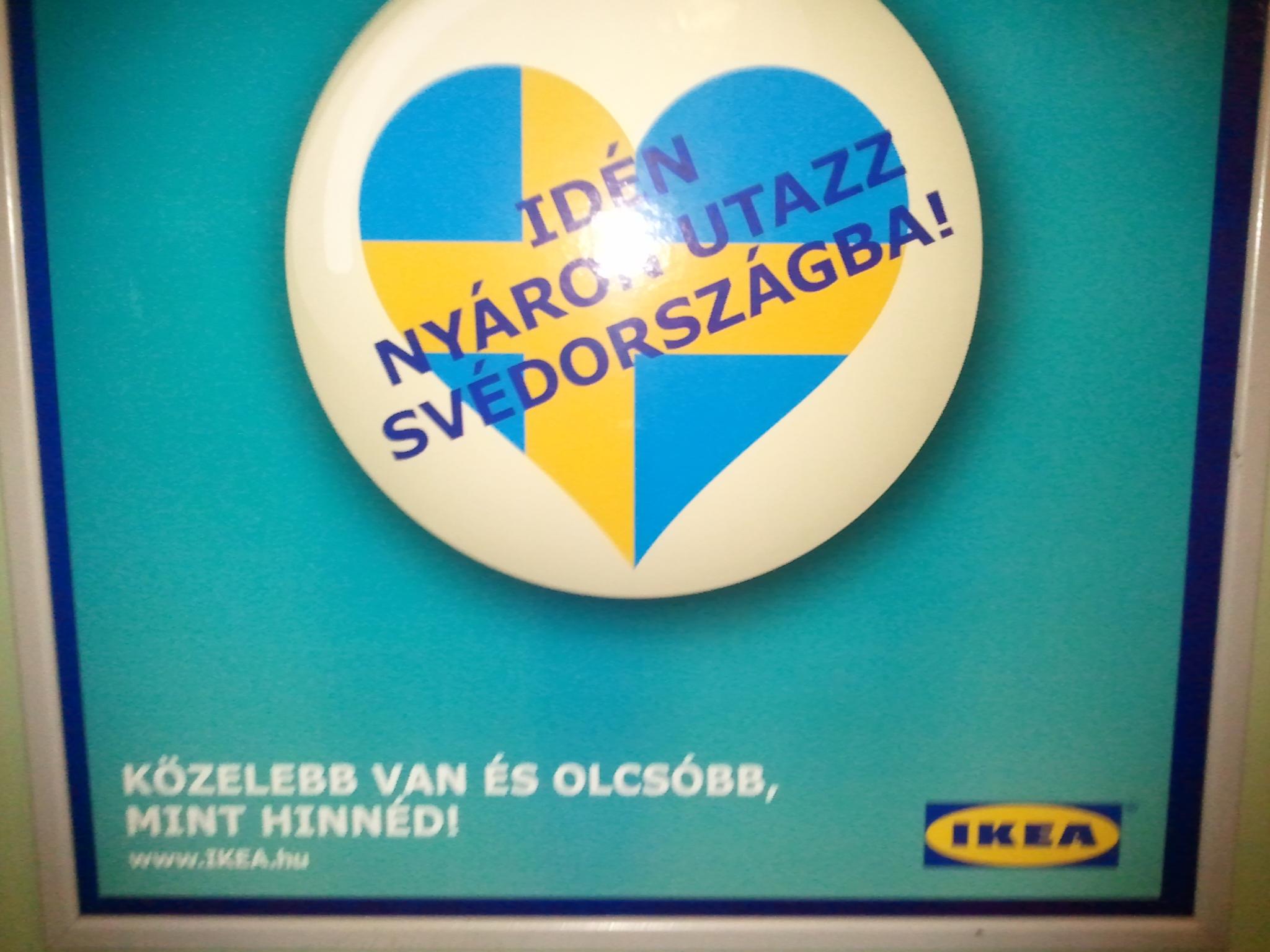 Anuncio de IKEA en Hungría