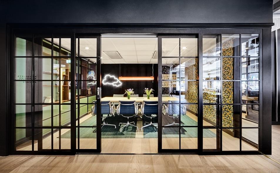 Espacio para reuniones en el Generator Stockholm <br> Foto: Generatorhostels.com
