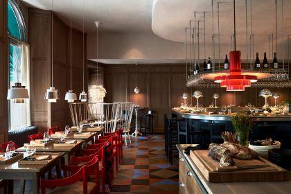 Restaurante Matbaren de Mathias Dahlgren en Estocolmo Foto: Magnus Mårding