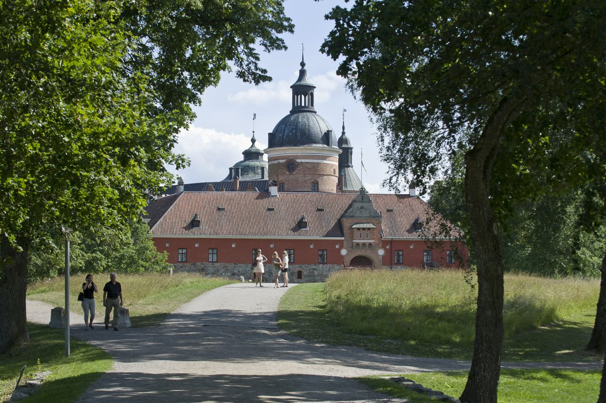 El Palacio de Gripsholm <br> Foto: Gomer Swahn