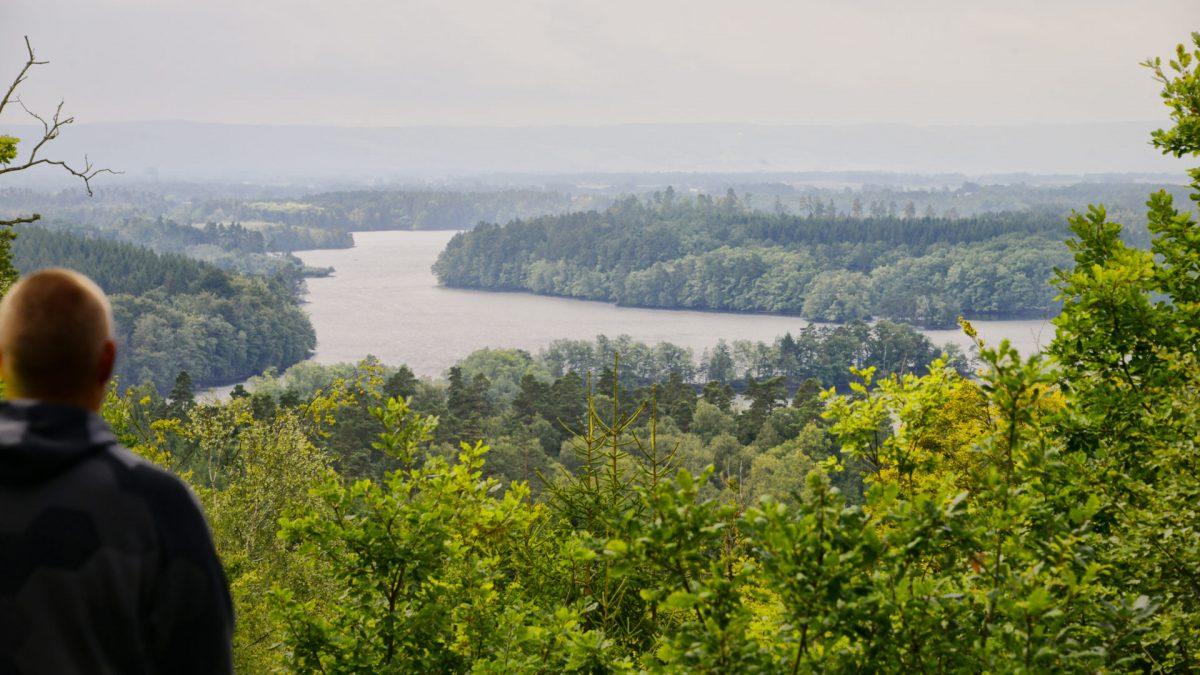 Lagos de Hjörnered cerca de Laholm en el condado de Halland <br> Foto: Adde / visithalland.com