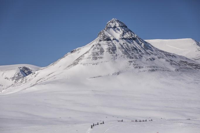 Paisajes de Laponia por los que discurre la Fjällraven Polar
