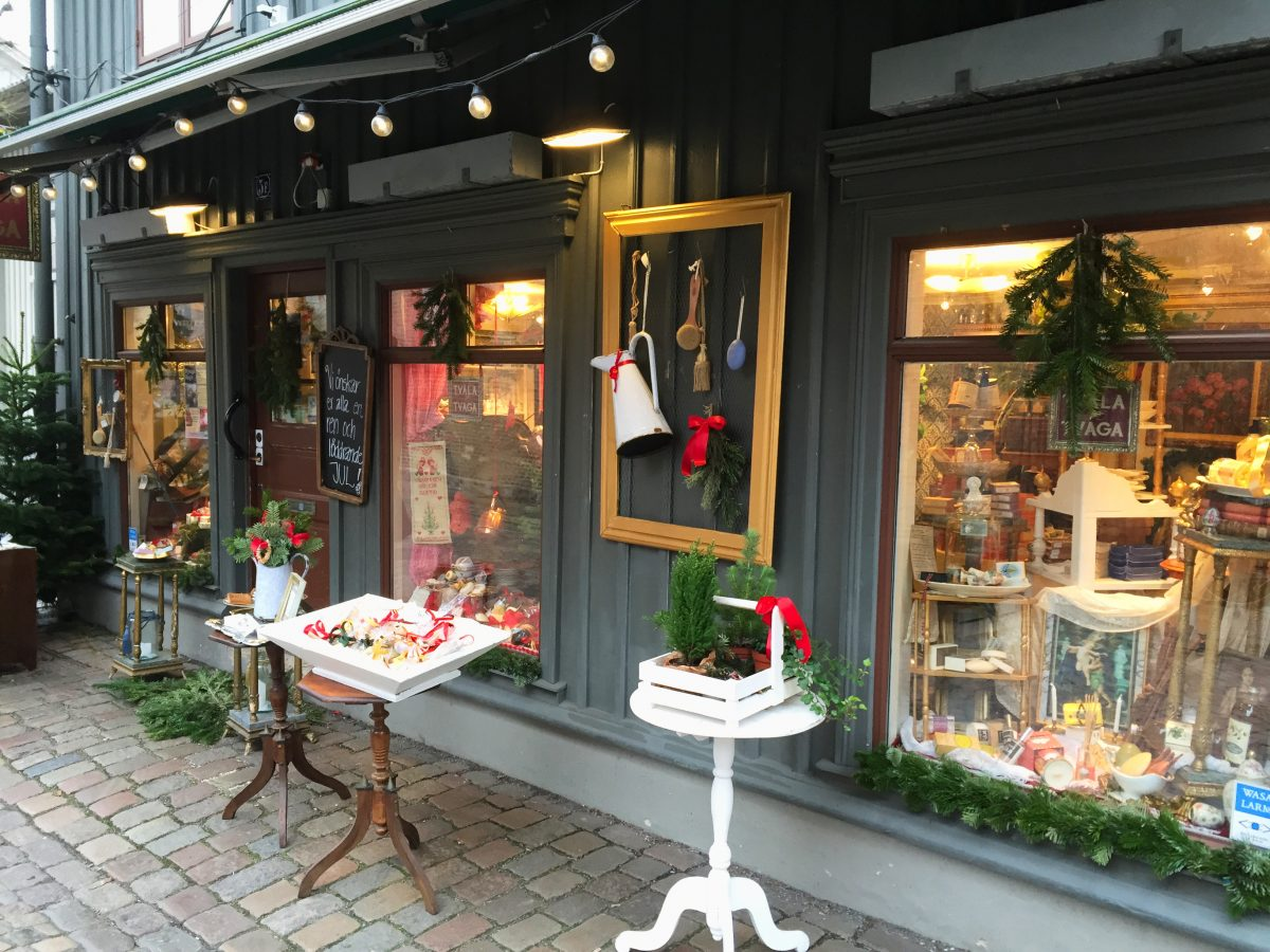 Tienda de jabones en Haga, Gotemburgo <br> Foto: Israel Úbeda / sweetsweden.com