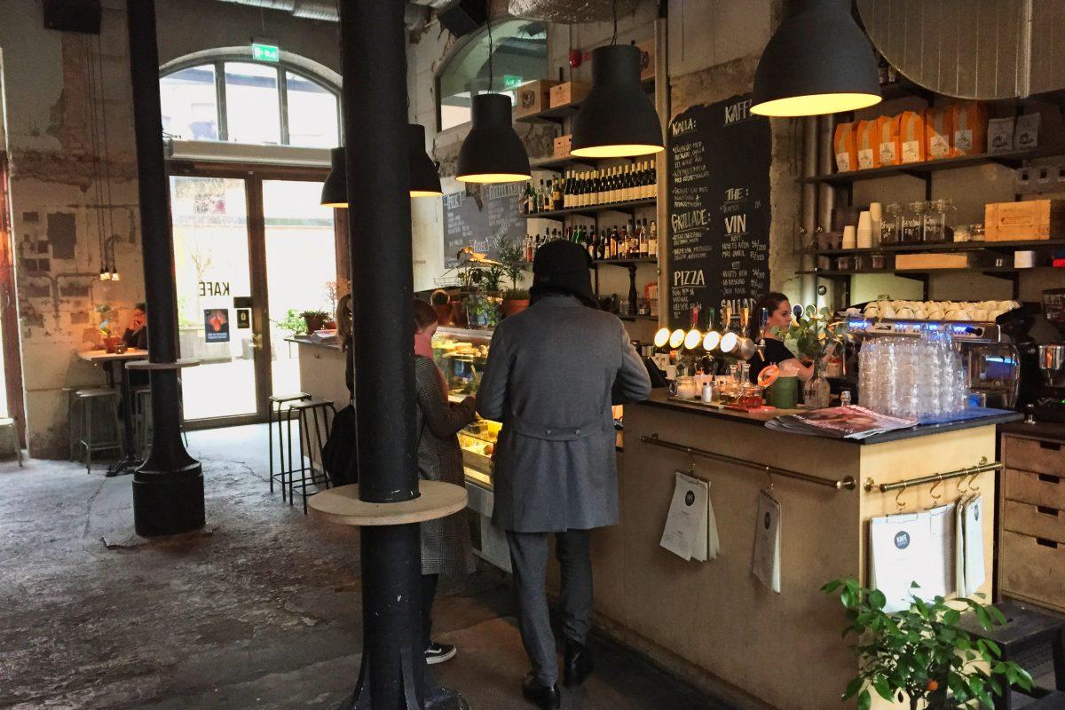 Kaffe Magasinet a cozy place in Gothenburg <br /> Photo: Israel Ubeda / sweetsweden.com
