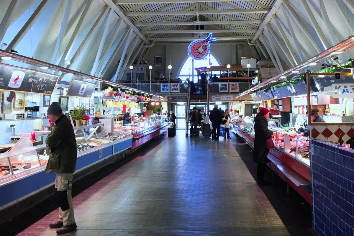 El Restaurang Gabriel en la planta superior de la Feskekörka en Gotemburgo <br> Foto: Israel Ubeda / sweetsweden.com