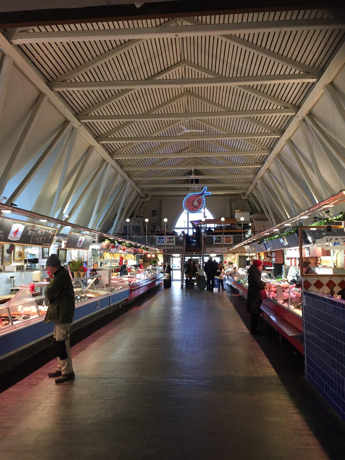 Interior de la Iglesia del Pescado de Gotemburgo <br> Foto: Israel Úbeda / sweetsweden.com