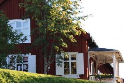Casa sueca en las cercanías de Skellefteå, foto: Israel Úbeda/sweetsweden.com