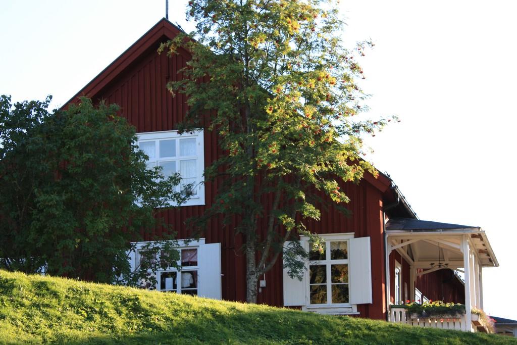 Casa sueca en las cercanías de Skellefteå <br> Foto: Israel Úbeda / sweetsweden.com