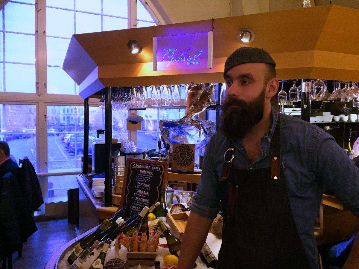 Johan Malm del Restaurang Gabriel <br> Foto: Israel Úbeda / sweetsweden.com