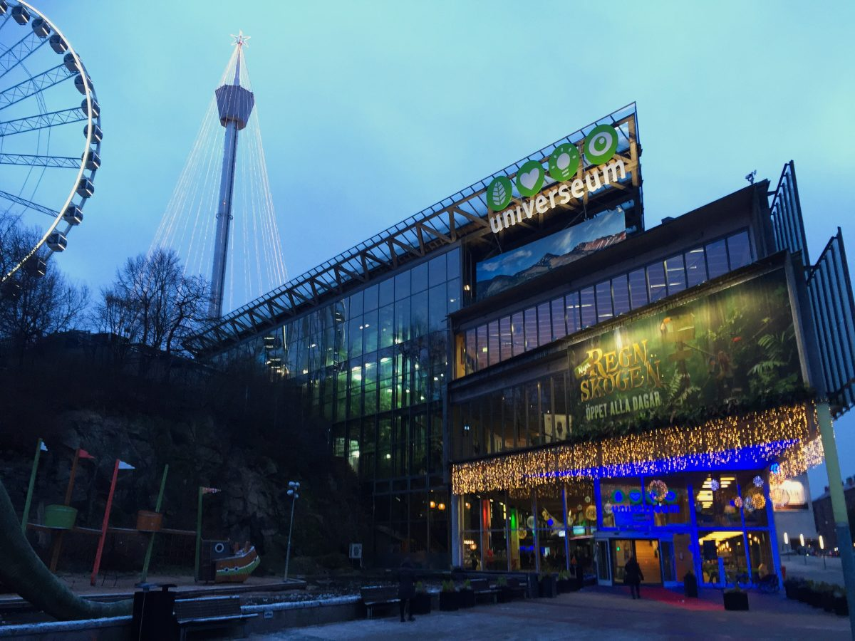 Universeum natural center in Gothenburg<br /> Photo: Israel Úbeda / sweetsweden.com