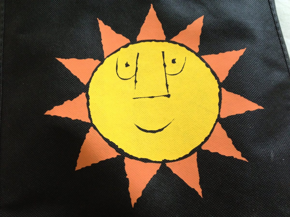 El sol sonriente, símbolo de Karlstad Foto: Israel Úbeda / sweetsweden.com