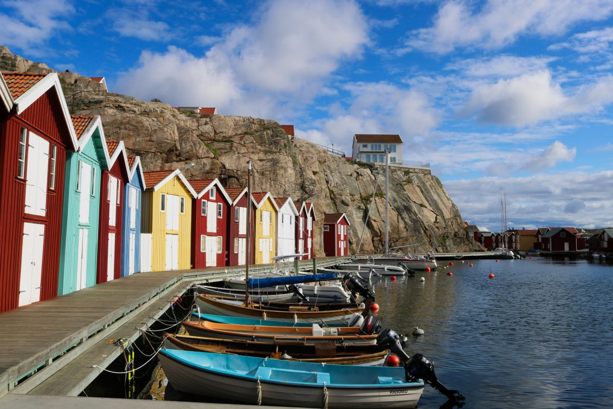 Smögenbryggan, Sweden's most photographed fishermen huts <br /> Photo: Israel Úbeda / sweetsweden.com