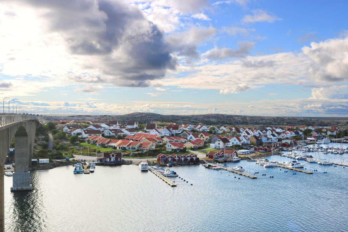 Smögen an island with charm on the West Coast of Sweden<br /> Photo: Israel Úbeda / sweetsweden.com