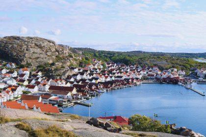 El pueblecito pescador de Hunnebostrand en Suecia Foto: Israel Ubeda / sweetsweden.com