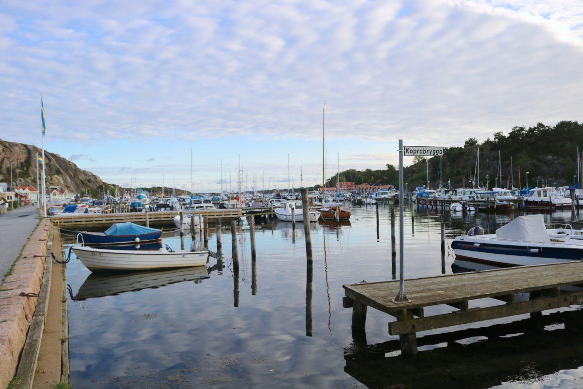 Muelle de Grebbestad en la costa oeste de Suecia <br> Foto: Israel Ubeda / sweetsweden.com