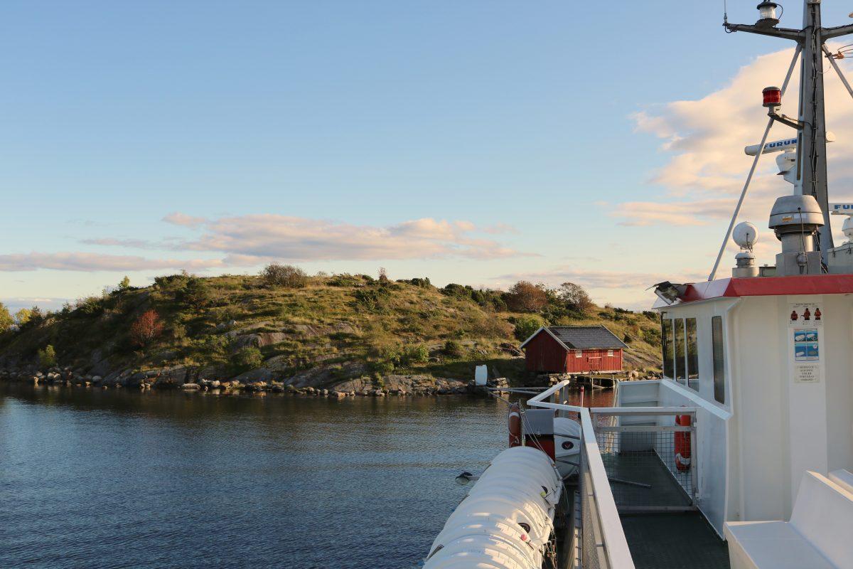 En barco a las islas Koster <br> Foto: Israel Ubeda / sweetsweden.com