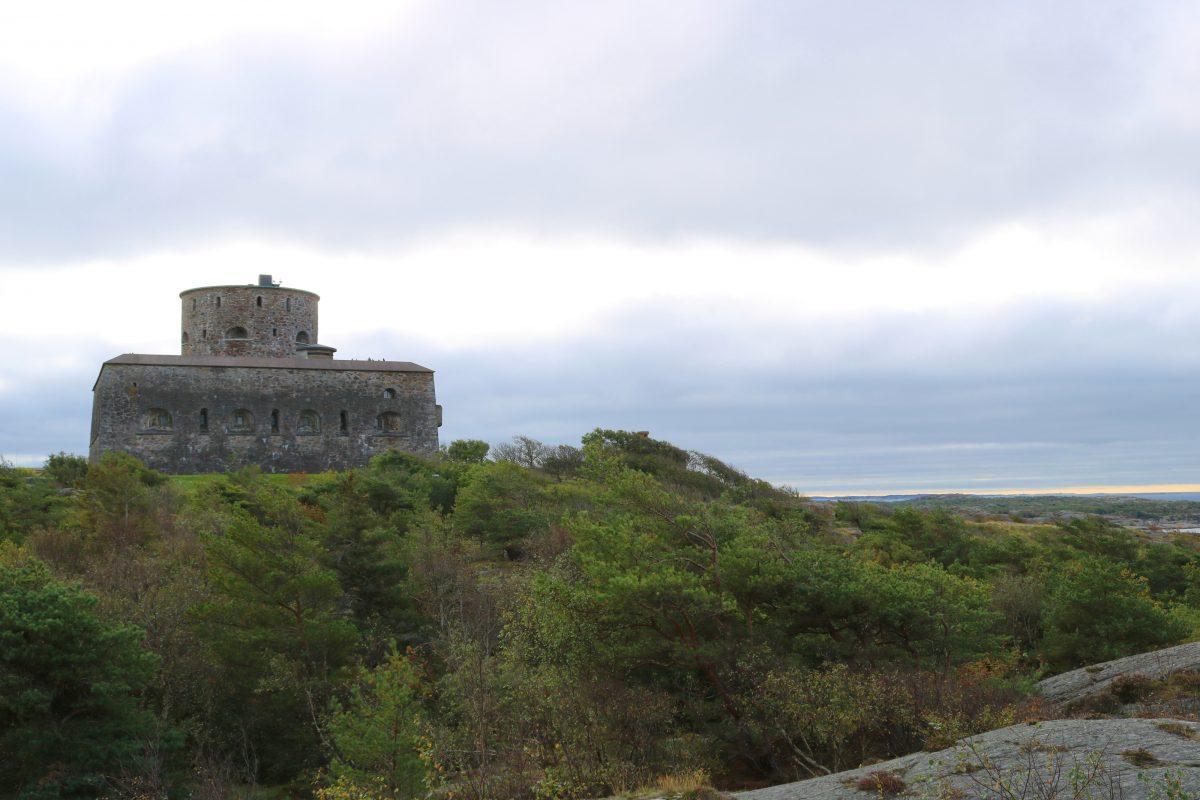 Fortaleza de Carlsten en Marstrand Suecia <br> Foto: Israel Ubeda / sweetsweden.com