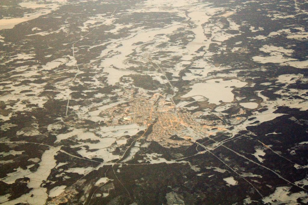 Suecia desde el aire <br> Foto: Israel Úbeda / sweetsweden.com