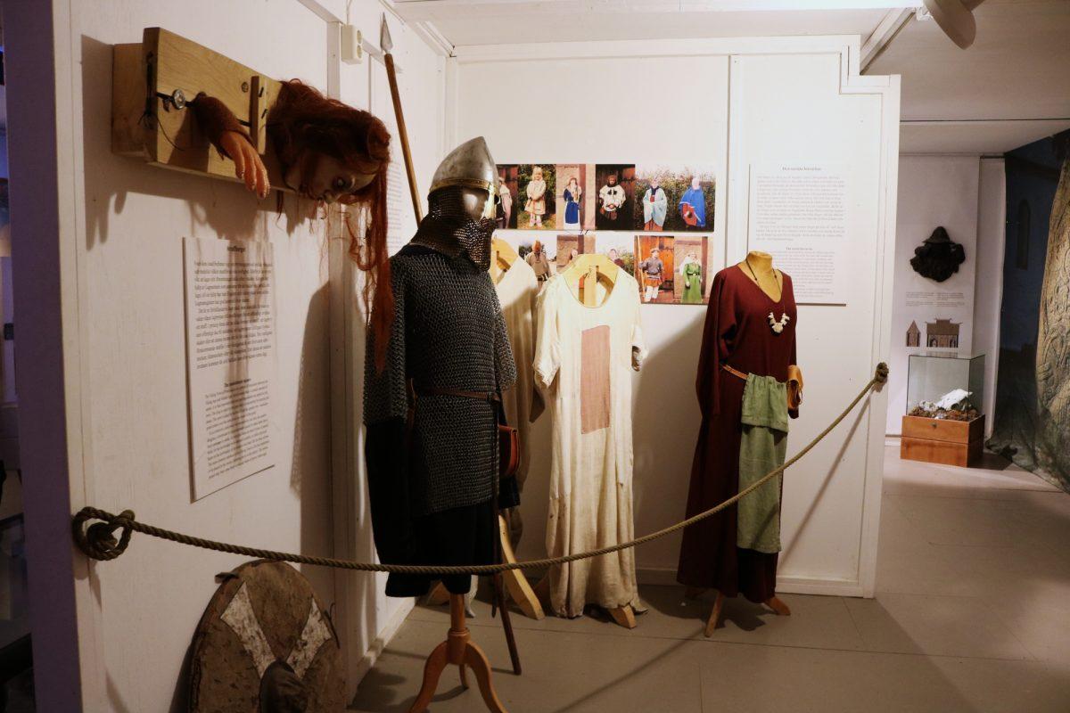 Interior del museo vikingo de Foteviken <br> Foto: Israel Úbeda / sweetsweden.com