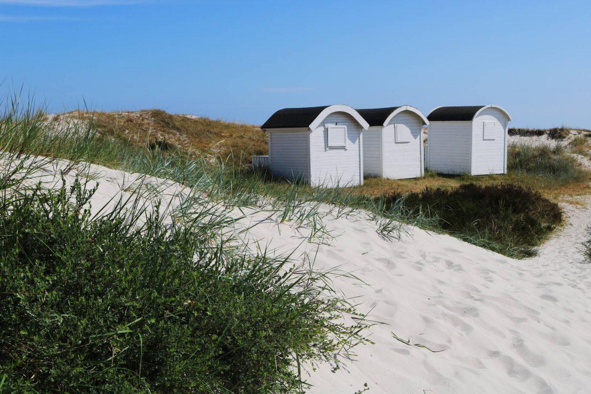 Casitas de playa particulares en Ljunghusen, Escania <br> Foto: Israel Úbeda / sweetsweden.com