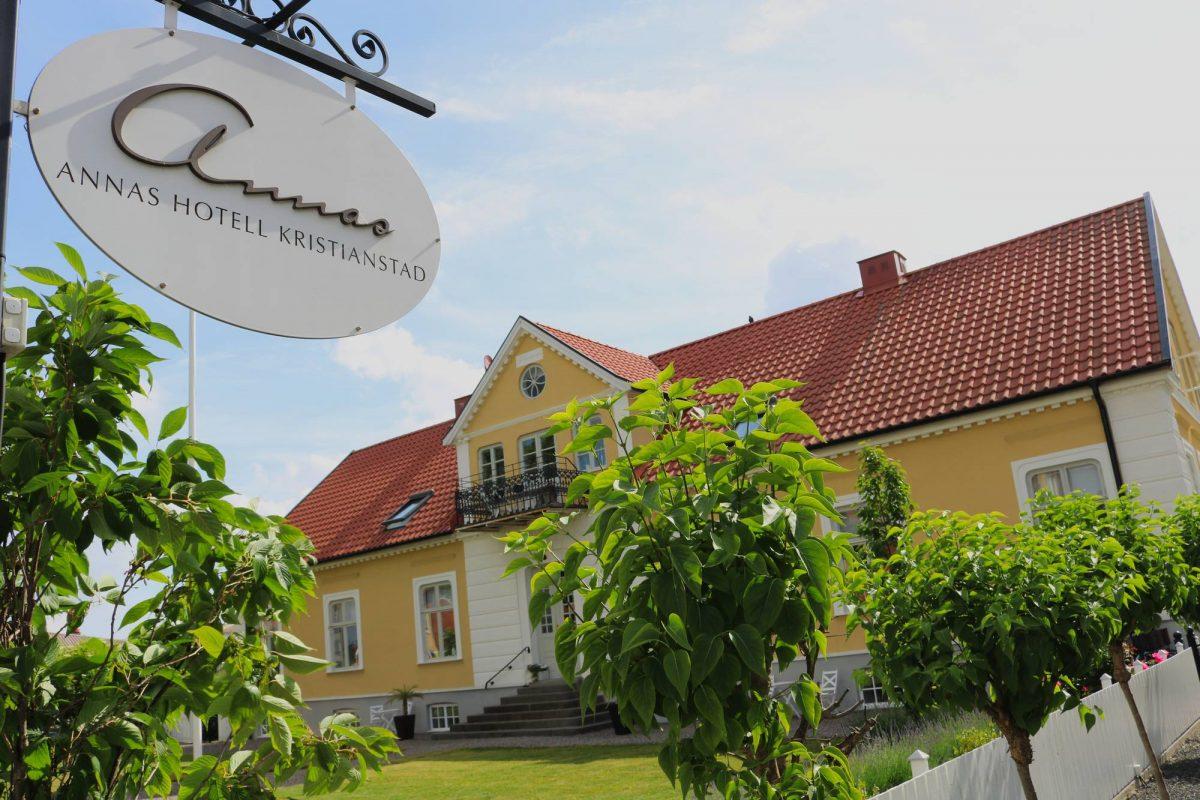 Annas Hotell, un magnífico alojamiento en Kristianstad <br> Foto: Israel Úbeda / sweetsweden.com